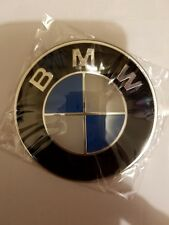 BMW Blue/White  82mm  Front Hood or Rear Trunk Logo Badge Decal 51148132375