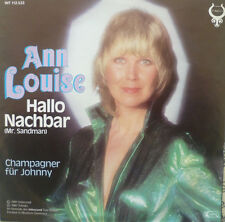 "7"" 1981 CV IN MINT- ! ANN LOUISE HANSON : Hallo Nachbar"