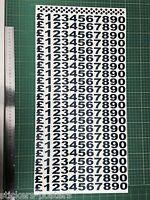 Menu Numbers, Catering Trailer Stickers/Vinyl Graphics, Burger Van Decals