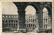 1926 Pola - Vista interna dell'Arena, Timbro Pola Centro - FP B/N VG