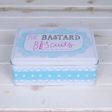 The Bastard Biscuits Tin Mothers Day & Birthday Gift Ideas for Him & Her