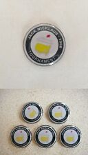 6 only JACK NICKLAUS  US MASTERS TRIBUTE GOLF BALL MARKERS 1963/65/66/72/75/86