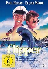 Flipper - Paul Hogan - Elijah Wood # DVD * OVP * NEU