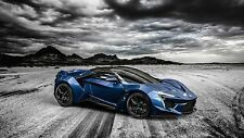 "24"" x 36"" Poster Fenyr Supersport Supercar"