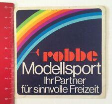 Aufkleber/Sticker: Robbe Modellsport - Partner Für Sinnvolle Freizeit(250416123)