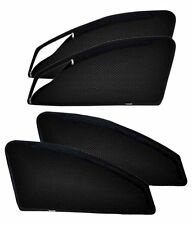 Suzuki S-Cross Zippered Zip 4 Pc Magnetic Side Window Sun Shade Mesh Curtain