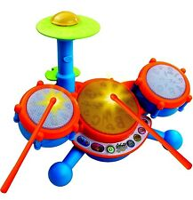 Drum Set Junior Musical Instrument Education Learning Child Playset Boys Kid Toy