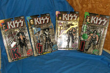 1997 All 4 KISS Ultra-Action Figures McFarlane Toys Unopened Gene Simmons Band