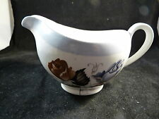 Alfred Meakin Glo-White Creamer Springwood Pattern England White Multi