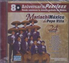 CD - Mariachi Mexico Pepe Villa NEW 24 Exitos Peerless - FAST SHIPPING !