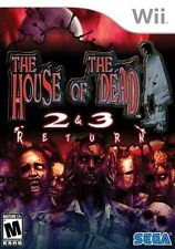 The House of the Dead 2 & 3 Return - Nintendo  Wii Game