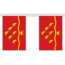 East Sussex 9M Long - 30 Flags Bunting English County Uk British Decoration