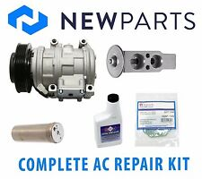 Toyota Camry Solara Avalon Complete A/C Repair Kit New Compressor with Clutch