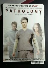 PATHOLOGY MILO VENTIMIGLIA ALYSSA MILANO MINI POSTER BACKER CARD (NOT a movie )