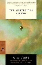 The Mysterious Island (Modern Library Classics)-ExLibrary