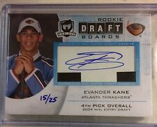 2009-10 The Cup Evader Kane Draft Boards RC Auto #15/25