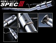 "BUDDY CLUB SPEC 3 SKYLINE R33 GTR GTST 3"" CAT BACK EXHAUST SYSTEM MUFFLER Y0563"