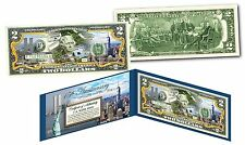WORLD TRADE CENTER Freedom Tower 9/11 WTC 15th ANNIVERSARY Official U.S. $2 Bill