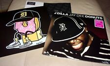 Jay Dee J Dilla Donuts Sealed 2 LP Limited Numbered Clear Colored Vinyl