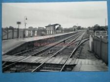 PHOTO  EDENBRIDGE RAILWAY STATION 1953 GENERAL VIEW OF THE STATION