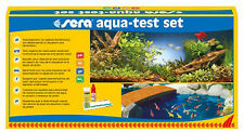 SERA AQUA TEST SET Analyse-PH,KH,GH,NO2 Aquarium y Teich .ENVIO 24 h.