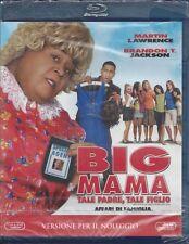 Blu-ray **BIG MAMA** con Martin Lawrence nuovo sigillato 2011