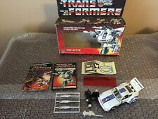 Vintage Hasbro 1984 Transformers G1 Jazz 100% Complete Read Broken Top