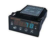 12V DC Universal 1/32DIN Digital  F/C PID Temperature Controller, Blue