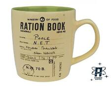 VINTAGE RETRO STYLE PERSONAL RATION BOOK  350ML CAPACITY MUG CUP NEW