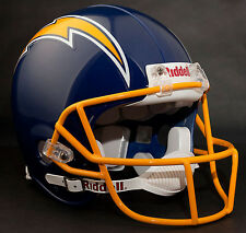 DAN FOUTS SAN DIEGO CHARGERS Schutt OPO-SW Football Helmet FACEMASK - YELLOW