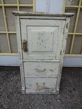Tall Nightstand Cabinet Cottage Shabby Chic Coastal Nautical Reclaimed Wood Rope