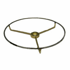 """6""""  Top BRASS-PLATED spider to make lamp shades"""