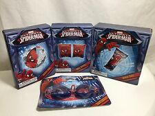 4 Spiderman Beach Toys Inflatables Mat Ball Arm Bands Swim Goggles Raft Lot New