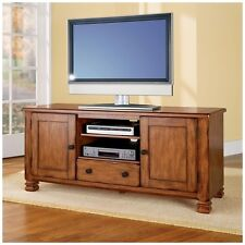 Altra Furniture 55inch TV Stand & Entertainment Center, Tuscany Oak-Rustic 98296