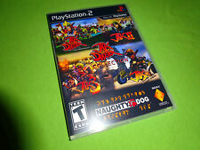 Empty Replacement Case!  4 JAK AND DAXTER GAMES 1 2 3 X COMBAT Racing PS2