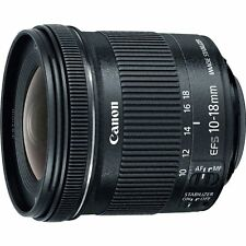 Canon EF-S 10-18mm f/4.5-5.6 IS STM Wide Angle Zoom Lens 10-18 F4.5-5.6 ~ NEW