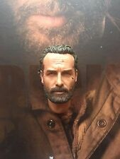 ThreeZero The Walking Dead TWD Rick Grimes Head Sculpt loose 1/6th scale