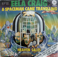 """7"""" 1978! EELA CRAIG A Spaceman Came Travelling /MINT-?"""
