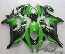 Green Black Fairing kit Painted Injection Bodywork for KAWASAKI NINJA ZX10R 2016