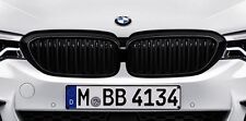 BMW M Performance Genuine Front Left/Right Pair of Kidney Grilles Black G30