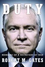 Duty : Memoirs of a Secretary at War by Robert M. Gates (2014, HC/DJ) 1st, GUC!