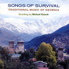 Songs of Survival: Traditional Music of Georgia by Various Artists (CD,...