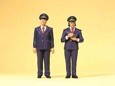 Preiser 45148  1:22,5 LGB; Chinesisches Bahnpersonal
