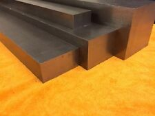 Bright Mild Steel Square Bar - EN3 - 100mm x 100mm x 25mm Long - New Stock