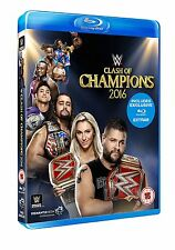 WWE Clash Of Champions 2016 [Blu-ray] *NEU* Region Code B Rollins vs. Owens