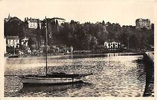 B94614 thonon les bains un coin du port real photo switzerland
