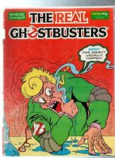 Marvel The Real GHOSTBUSTERS Comic - 22 July 1989, No.58