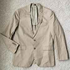 J Crew Factory Thompson Suit Jacket in Chino 38647 Khaki 42L NWT