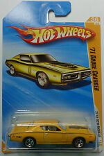 2010 Hot Wheels New Models '71 Dodge Charger 36/44 (Yellow Version)