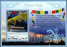 Bhutan 2016 Prayer Flags bring good fortune 2 SS MNH Himalaya Vajrayana Buddhism